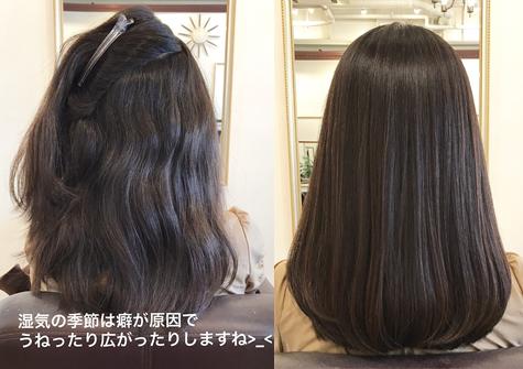 髪質改善Before After