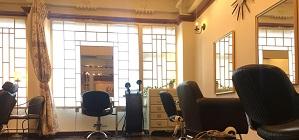 二子新地の美容室Anagramの店内