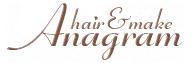 二子新地の美容室Anagramのロゴ